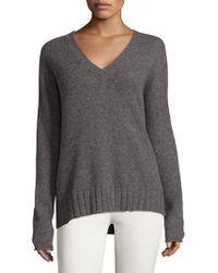 NAKEDCASHMERE - V-neck Cashmere Sweater - Lyst