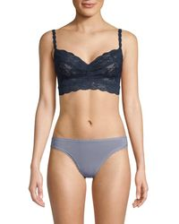 Cosabella Women's Never Say Never Sweetie Soft Bra - Tropical Water - Size S - Blue