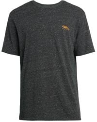 Riot Society Men's Embroidered Tiger T-shirt - Grey - Size M