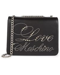 Love Moschino Embellished Crossbody Bag - Black