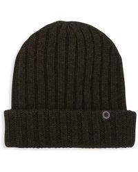 UGG Wide Rib-knit Beanie - Black