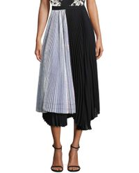 DELFI Collective - Eliza Irridescent Pleated Skirt - Lyst