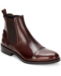 Roberto Cavalli - Leather Chelsea Boots - Lyst