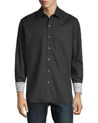 Robert Graham - Windsor Cotton Button-down Shirt - Lyst