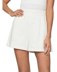 BCBGMAXAZRIA A-line Shorts - White