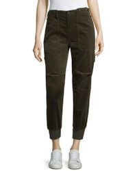 Vince - Slouchy Military Joggers - Lyst
