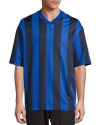 Alexander Wang - Striped Soccer Jersey - Lyst