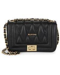 Valentino By Mario Valentino Women's Beatriz D Leather Shoulder Bag - Black