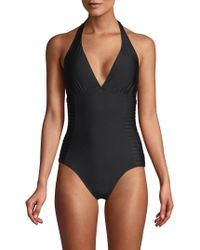Calvin Klein - Classic One-piece Swimsuit - Lyst