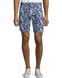 Slate & Stone - Floral-print French Terry Shorts - Lyst