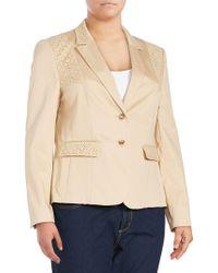 Basler | Long-sleeve Cotton-blend Jacket | Lyst