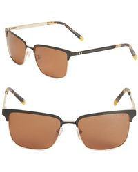 Ted Baker - 56mm Square Sunglasses - Lyst