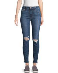 Joe's Jeans - Oksana Skinny Ankle Jeans - Lyst