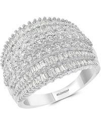Effy 14k White Gold & Diamond Ring