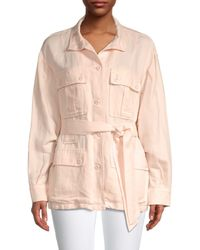Joie Women's Sirena Jacket - Shell Pink - Size S