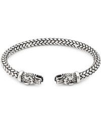 Perepaix - Braided Cuff Bracelet - Lyst
