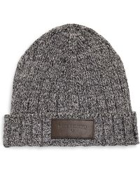 True Religion - Variegated Knit Beanie - Lyst