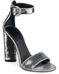Kendall + Kylie - Giselle Sparkle High Heel Sandals - Lyst