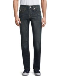 True Religion Men's Ricky Relaxed Straight Jeans - Last - Size 31 - Blue