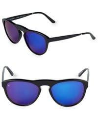 Smoke X Mirrors Women's Outta Space 51mm Cat Eye Sunglasses - Milky Gray
