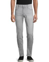 Hudson Jeans Men's Ace Skinny Jeans - Gray - Size 33