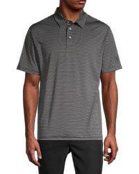 PGA TOUR Feeder Striped Polo - Grey
