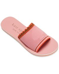 Kate Spade Festival Slide Sandals - Pink