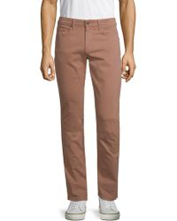 PAIGE - Stretch Cotton Skinny Jeans - Lyst