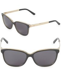 Gucci - 54mm Butterfly Sunglasses - Lyst