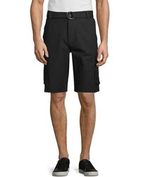 Buffalo David Bitton Headrix Cargo Shorts - White