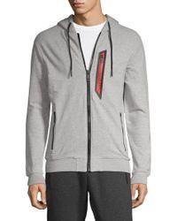 Antony Morato - Fleece Logo Hoodie - Lyst