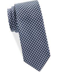 Saks Fifth Avenue - Textured Silk Tie - Lyst