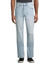True Religion Ricky Relaxed Straight Jeans - Blue