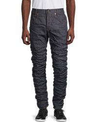 G-Star RAW Men's Staq 3d Straight-fit Tapered Jeans - Raw Denim - Size 32 32 - Blue