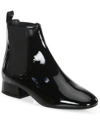 Michael Kors - Park Leather Booties - Lyst