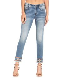 Miss Me Mid-rise Ankle Skinny Jeans - Blue