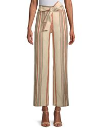Rebecca Minkoff - Molly Striped High-rise Pants - Lyst
