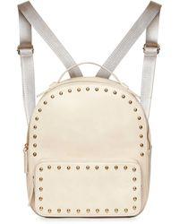 Urban Originals Star Seeker Studded Backpack - Natural