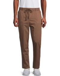 Hurley Bravo Stretch Jogger Pants - Brown
