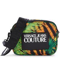 Versace Jeans Couture Women's Logo Jungle-print Crossbody Bag - Multi Chair - Green