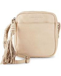 Liebeskind Berlin - Fringe Mini Leather Crossbody Bag - Lyst