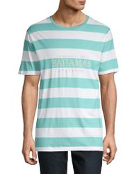 Barney Cools - Embroidered Cotton Tee - Lyst