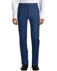 Paul & Shark Stretch Cotton Trousers - Blue