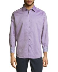 Robert Graham - St. Louis Park Cotton Button-down Shirt - Lyst