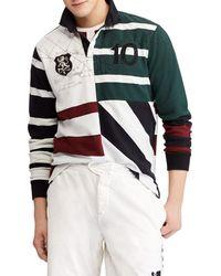 Ralph Lauren Uneven Rugby Shirt - Green