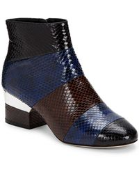 Isa Tapia - Hardy Leather Zipped Ankle Boots - Lyst