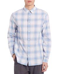 Vince - Plaid Melrose Shirt - Lyst