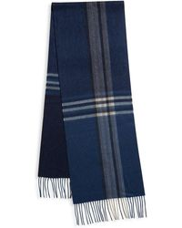 Saks Fifth Avenue - Ombre Plaid Cashmere Scarf - Lyst