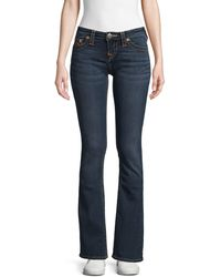 True Religion Becca Mid-rise Boot-cut Jeans - Blue