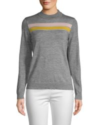 Lea & Viola - Heathered Long-sleeve Sweater - Lyst